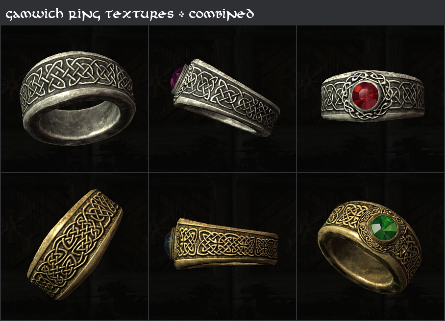 Gemling Queen Jewelry at Skyrim Nexus mods and munity