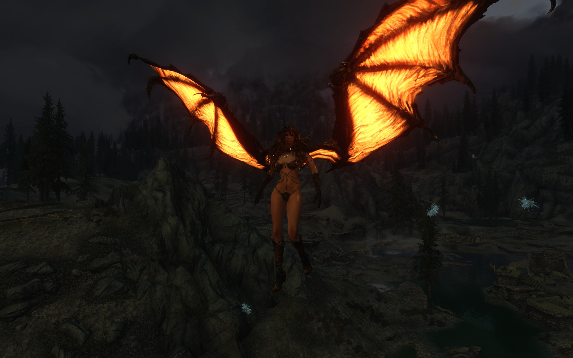 Animated Dragon Wings at Skyrim Nexus - mods and community
