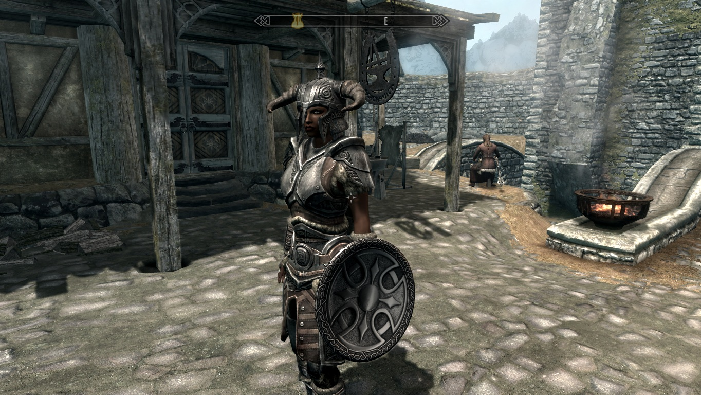 Reapers Steel Shield Replacer at Skyrim Nexus - mods and community