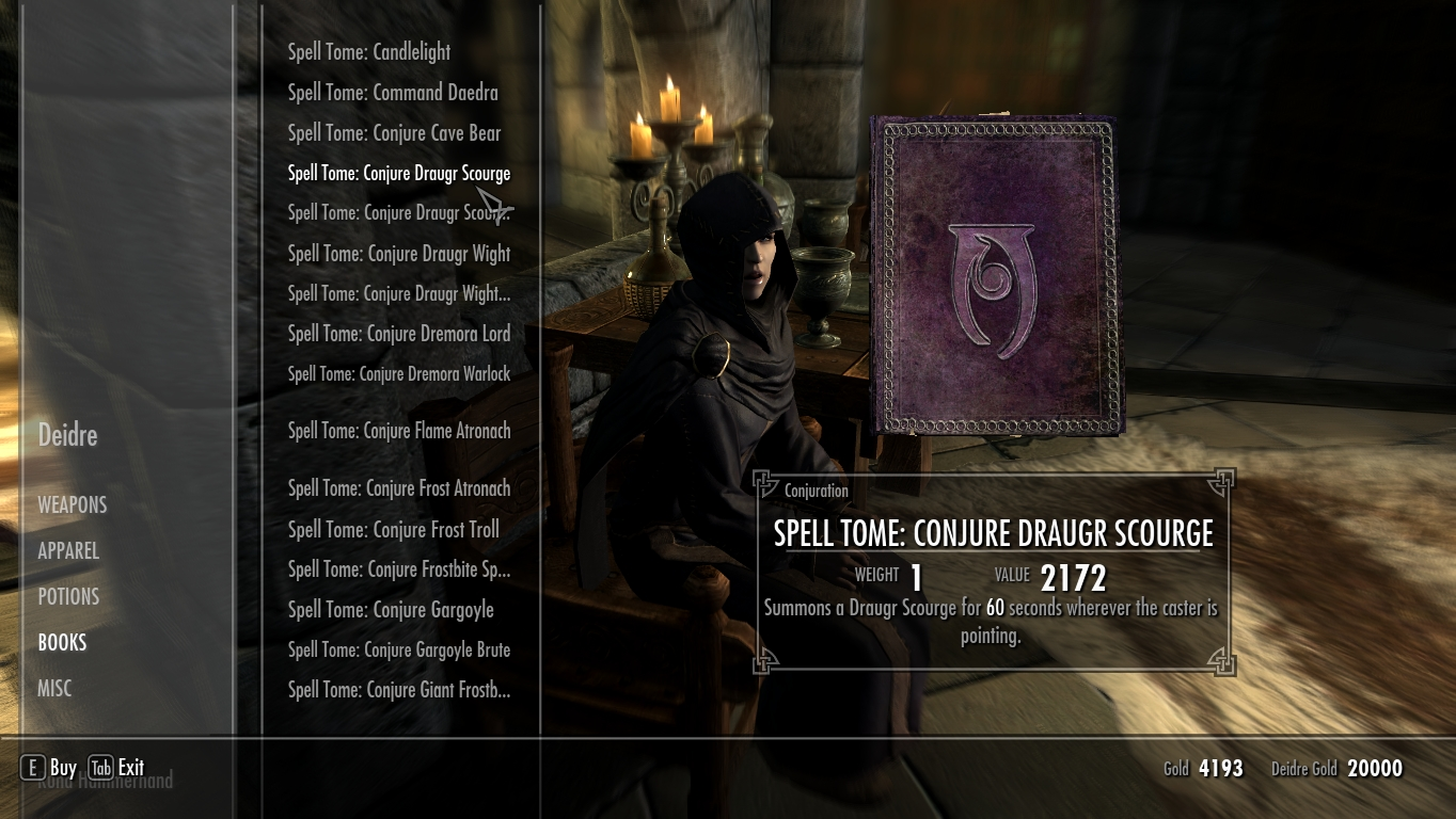 Best early conjuration spell? The Elder Scrolls V: Skyrim