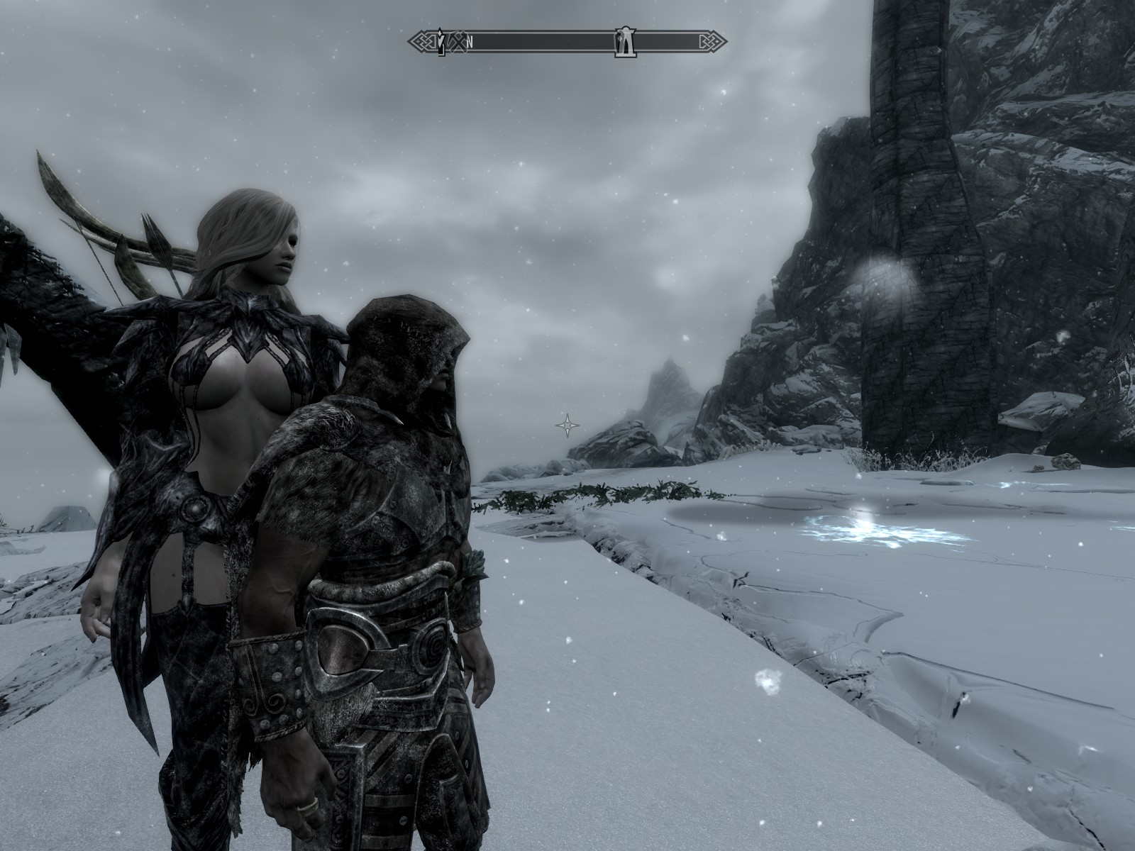 You might be able to play Skyrim Together with friends