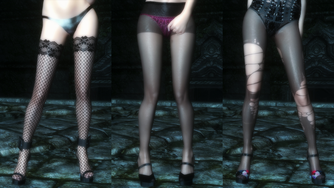 - Charming High Heels For CBBE HDT At Skyrim Nexus - Mods And Community