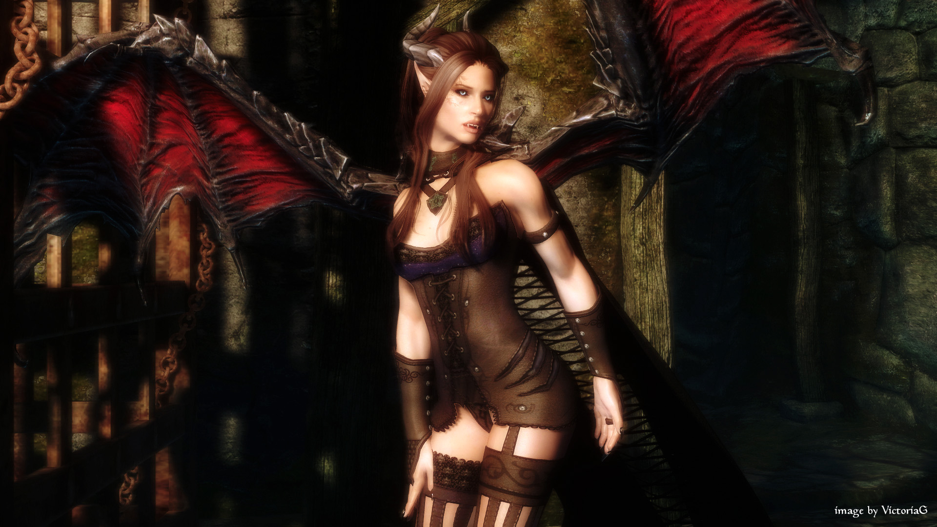 Converting my Sexy Vampire Lord to SSE - Page 2 - Skyrim