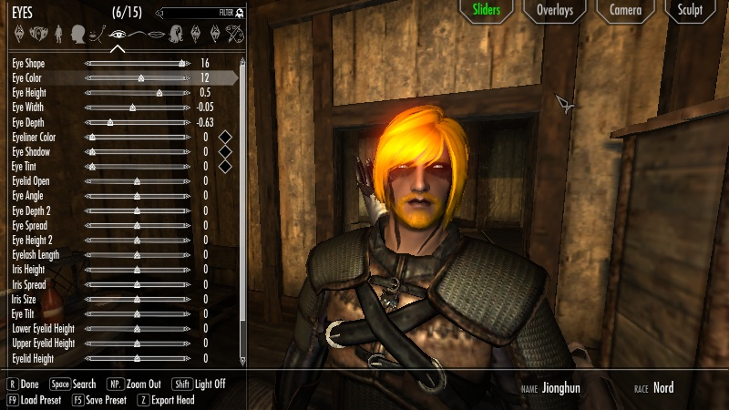 Colorful Witcher Eyes at Skyrim Nexus mods and munity