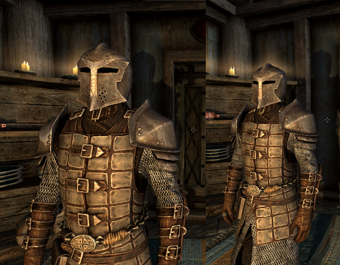 dawnguard armor texture at skyrim nexus mods and dawnguard heavy armor with hauberk at skyrim nexus mods 991
