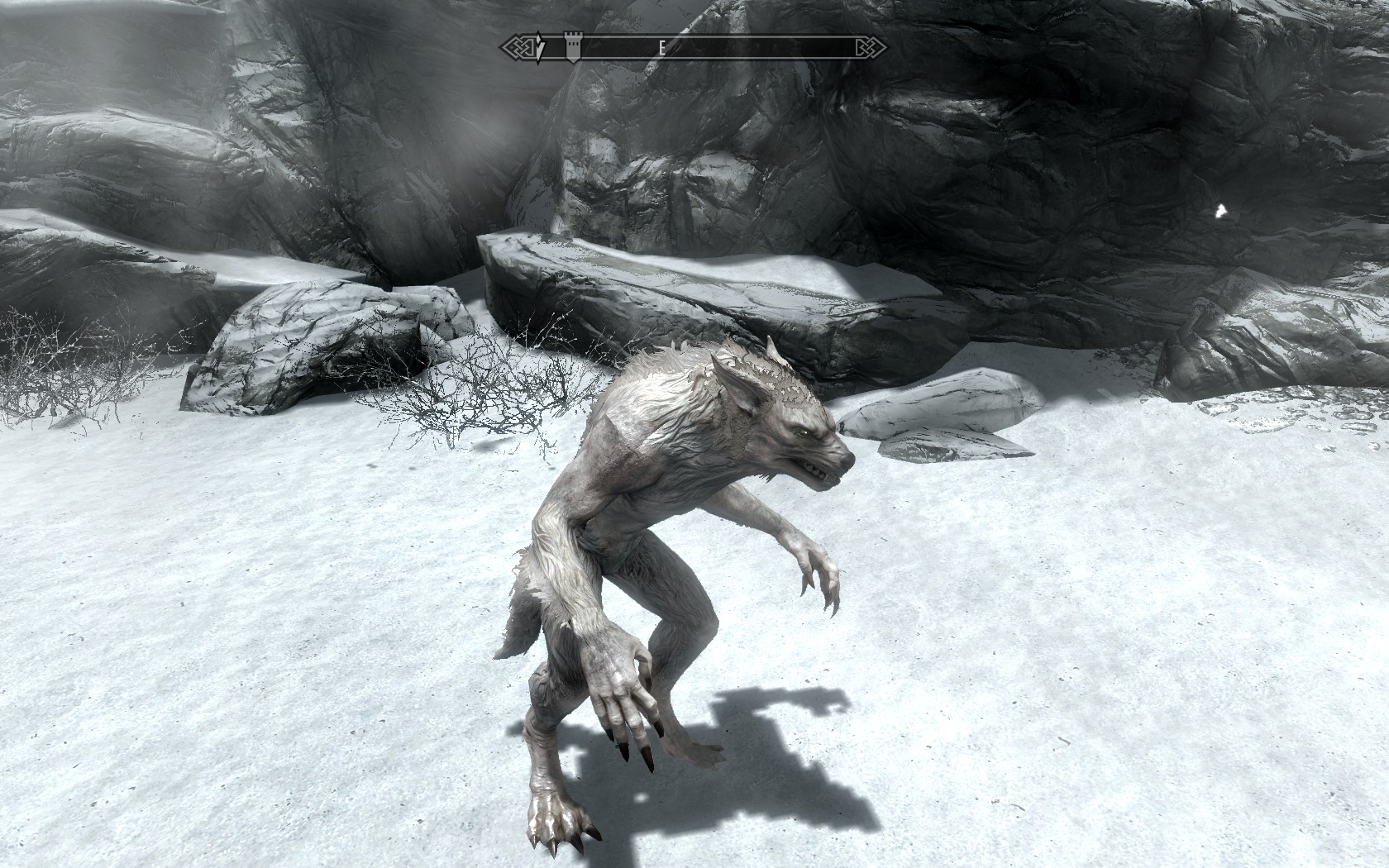 how to use wearwolf skyrim