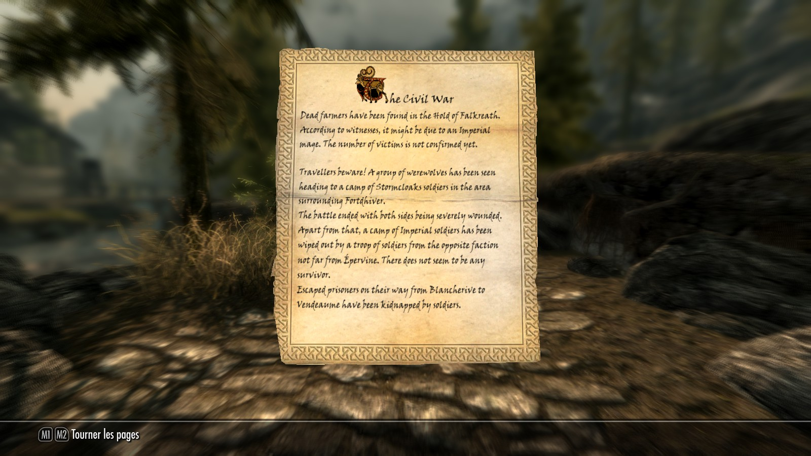 how to find a courier in skyrim