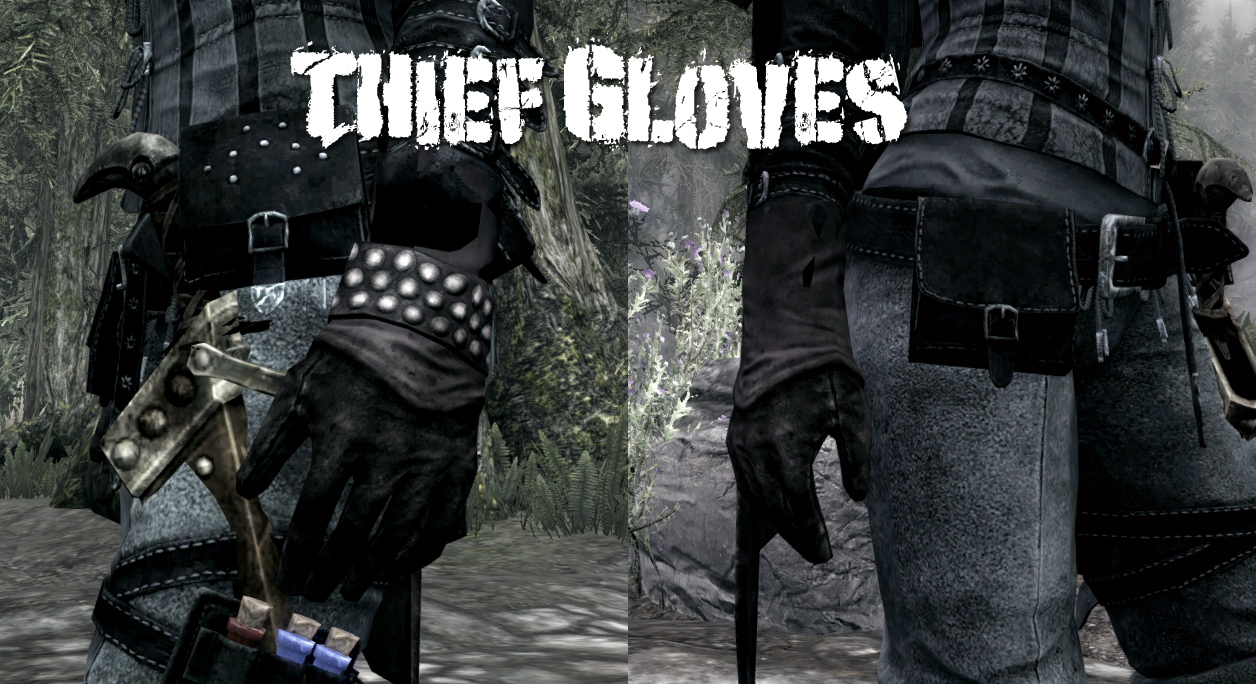 Black gloves skyrim - 199 Endorsements