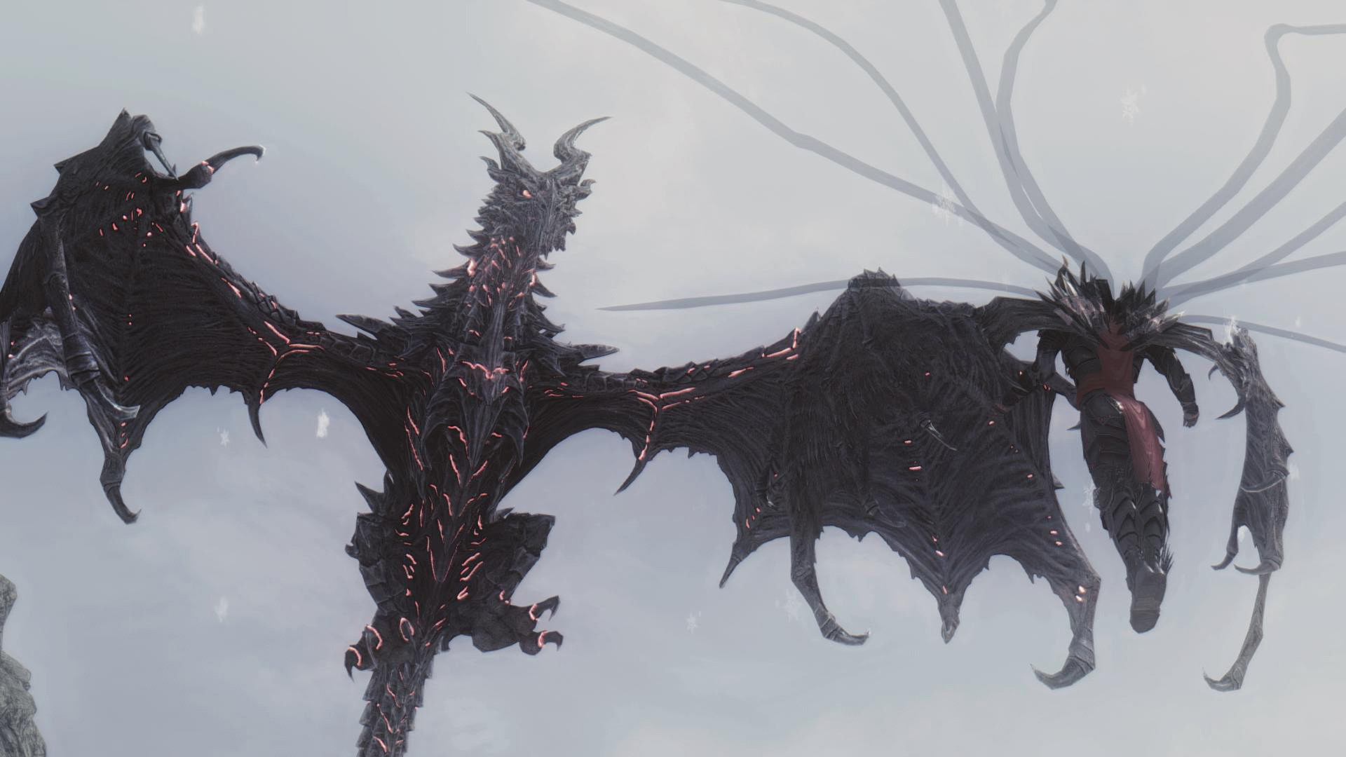 Skyrim Mods Alduin Deathwing Images Deathwing Inspired