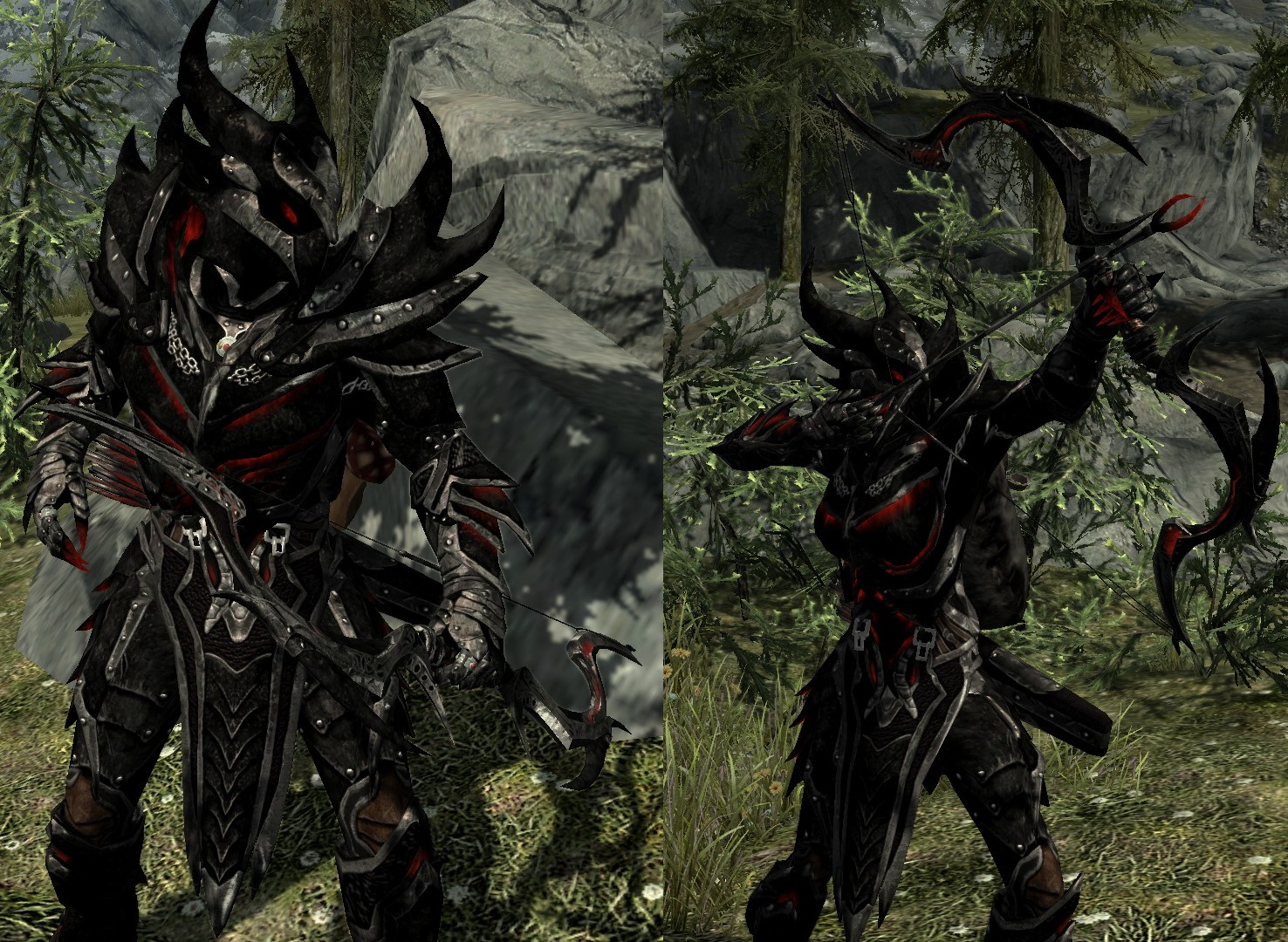 Daedric Glows New and Enhanced Colors at Skyrim Nexus mods and