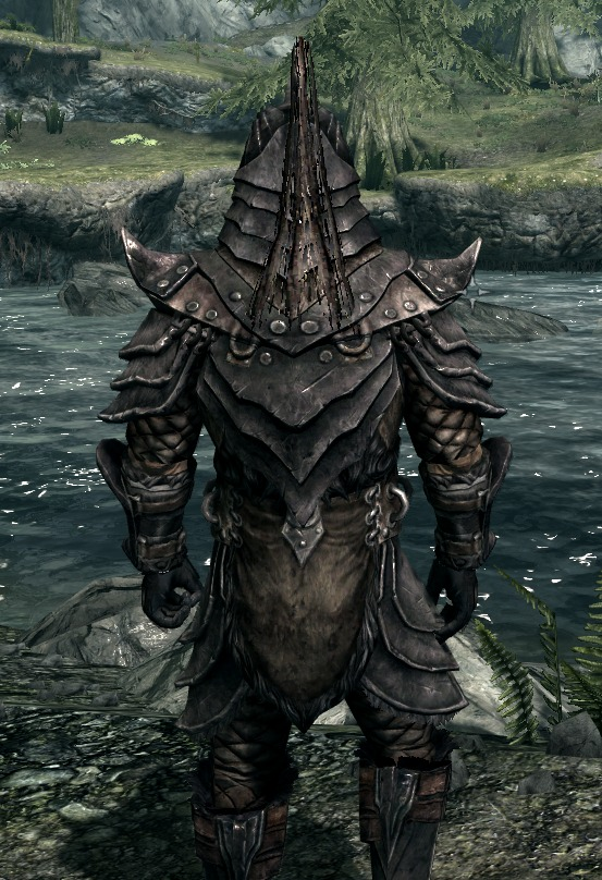 Charred Orcish Armor- Male at Skyrim Nexus - mods and ...