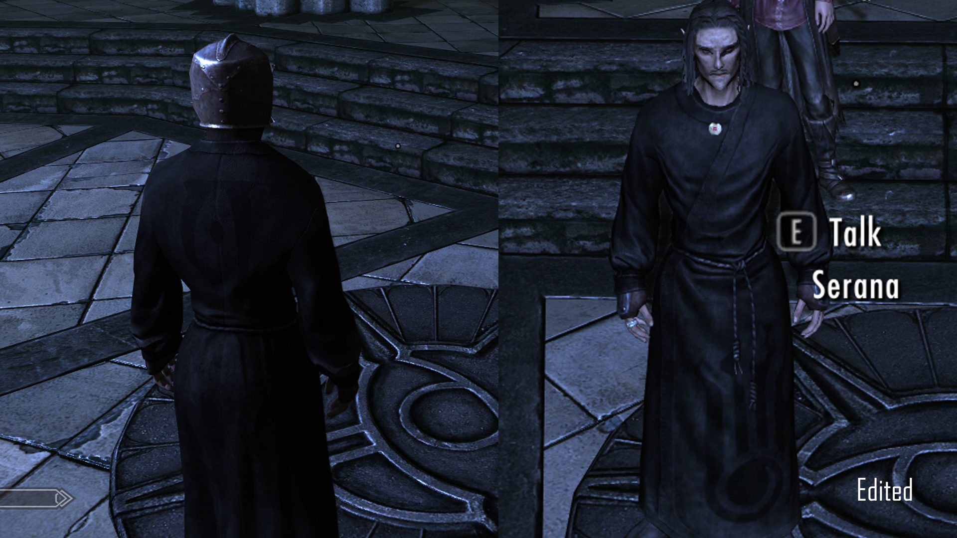 Black Robe Retexture At Skyrim Nexus Mods And Community