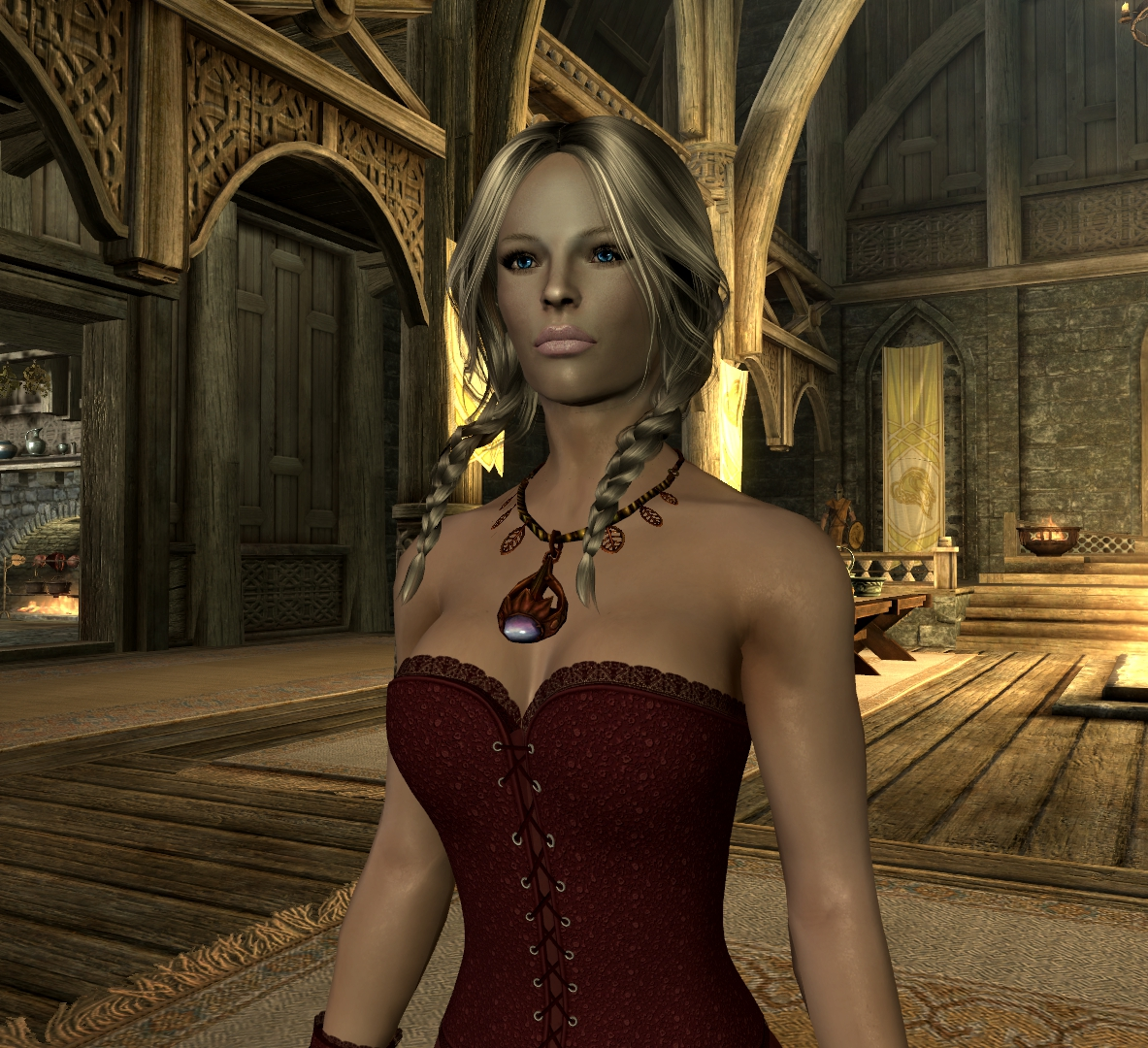 Skyrim female character mods porn comics