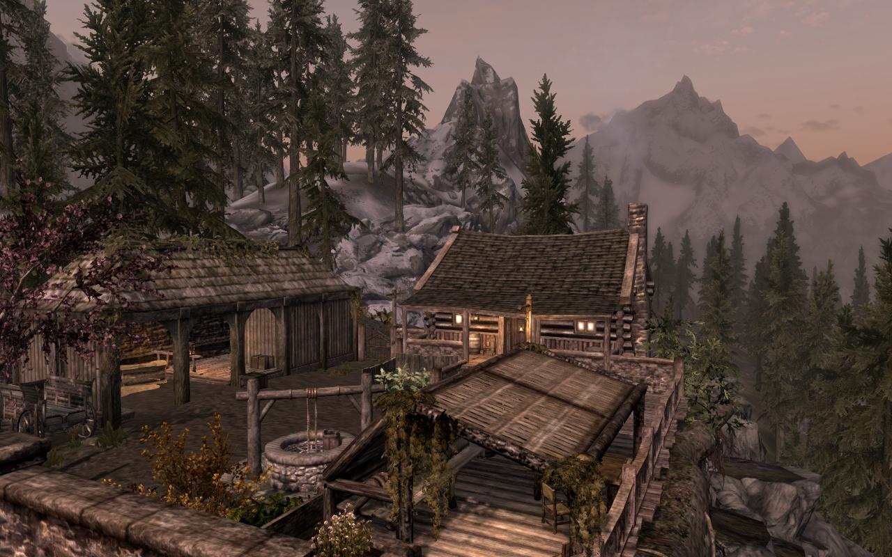 Lakeview cabin at skyrim nexus mods and community for Lakeview cabin download