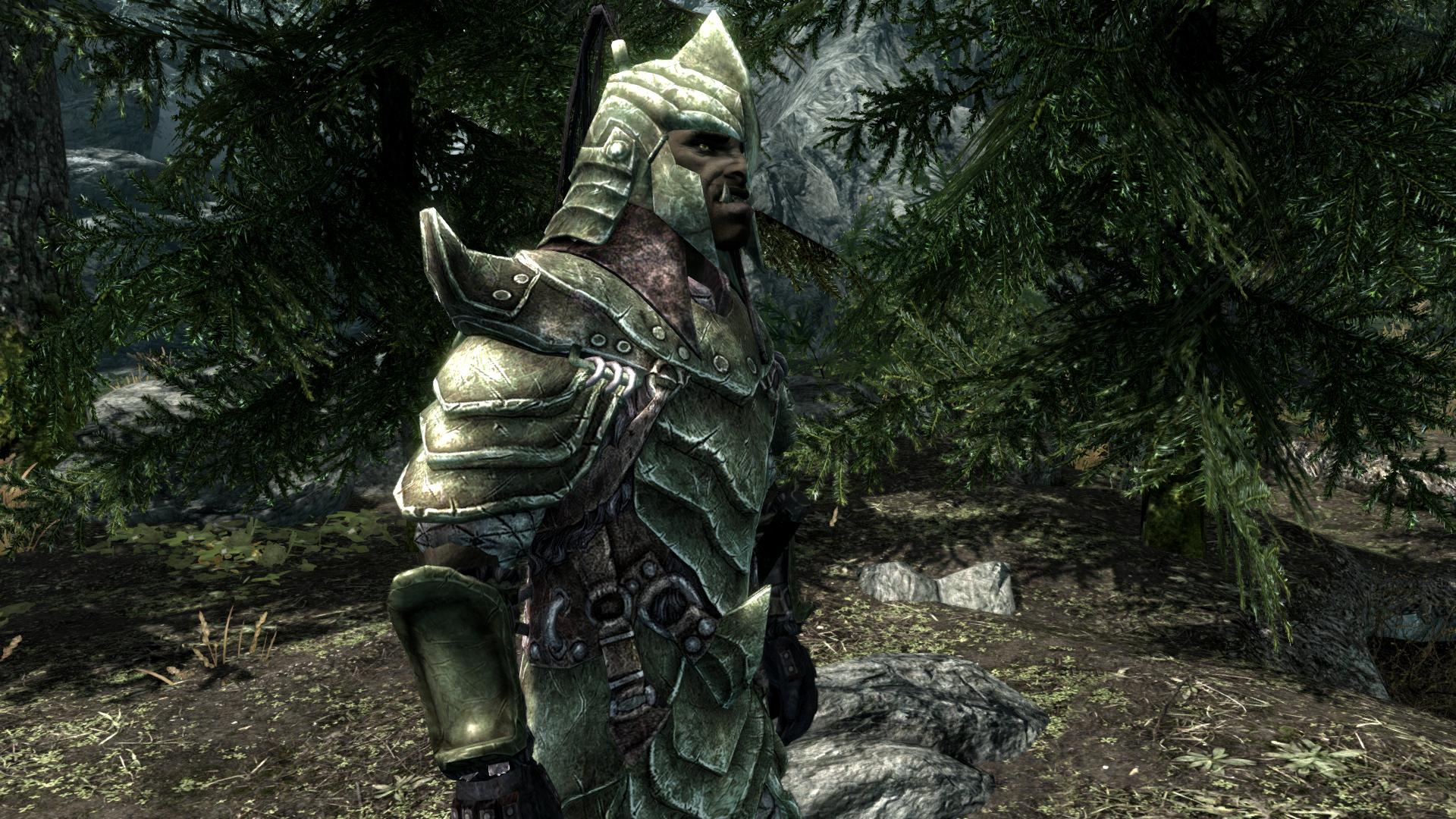 2K Green Male Orcish Armor at Skyrim Nexus - mods and ...