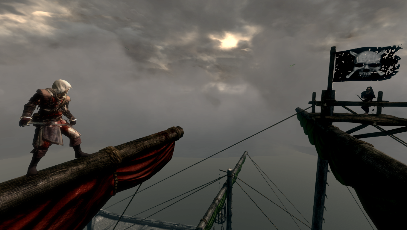 Pirates of Skyrim - The Northern Cardinal under the Black Flag