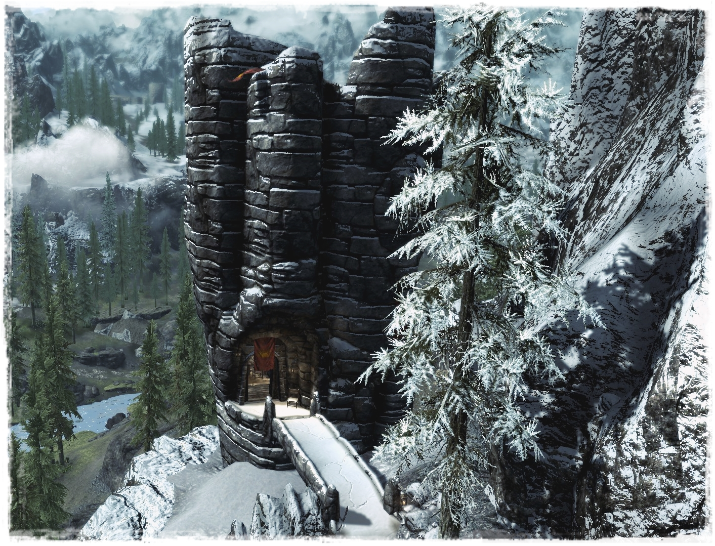 Image result for skyrim watchtower bleak falls