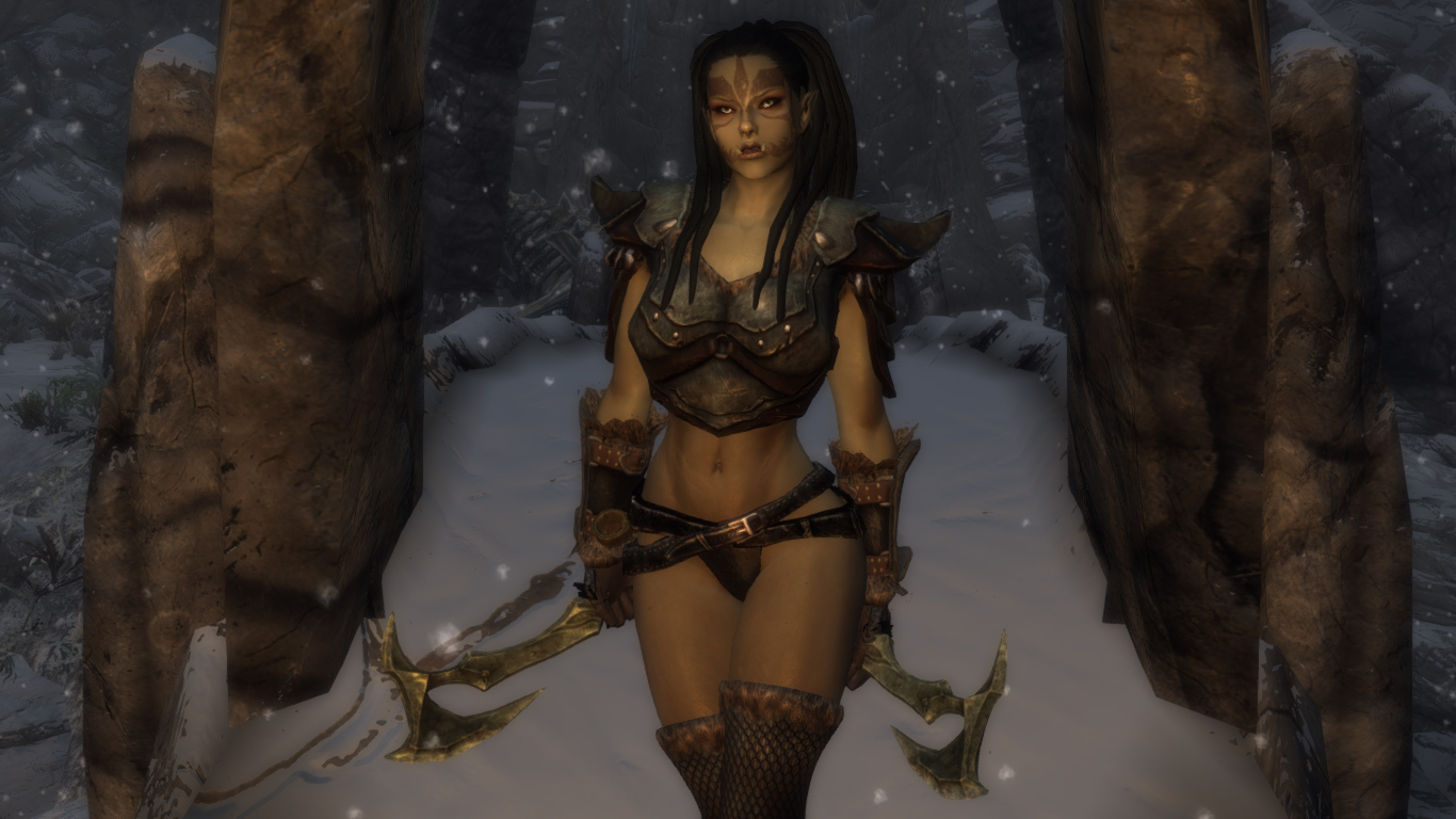 Sexy female orc sexy photo
