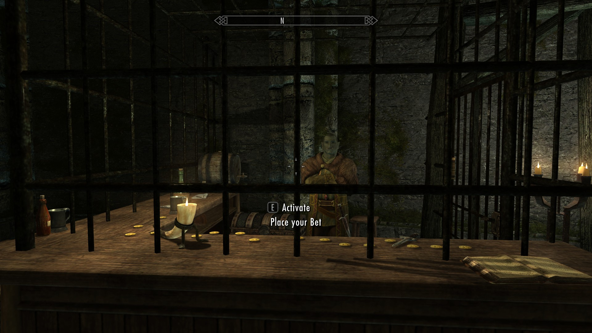 how to start pit fighter skyrim
