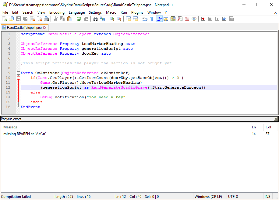 is notepad++ a compiler
