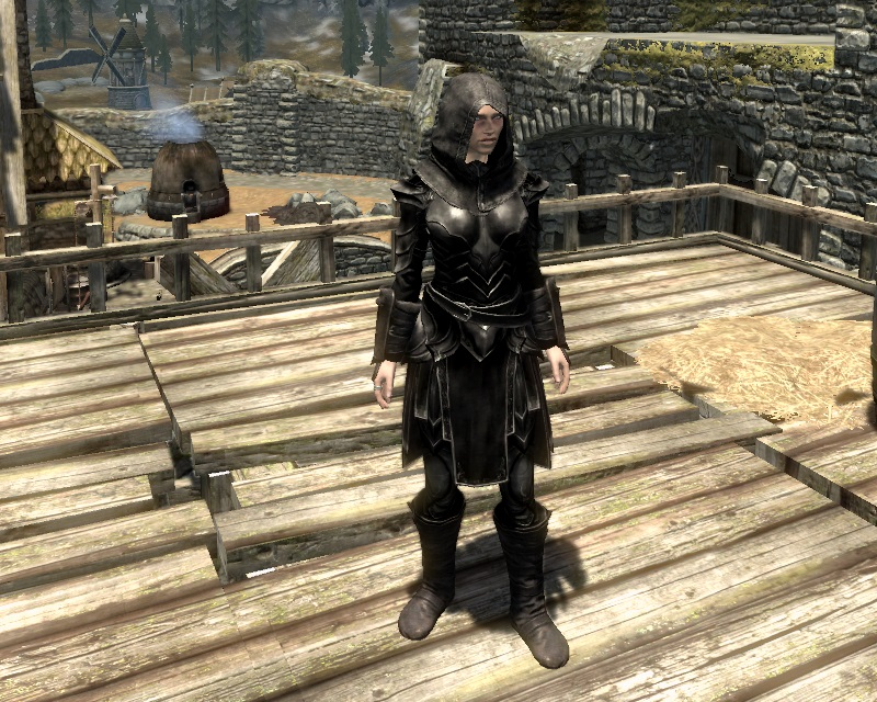 how to find ebony armor in skyrim