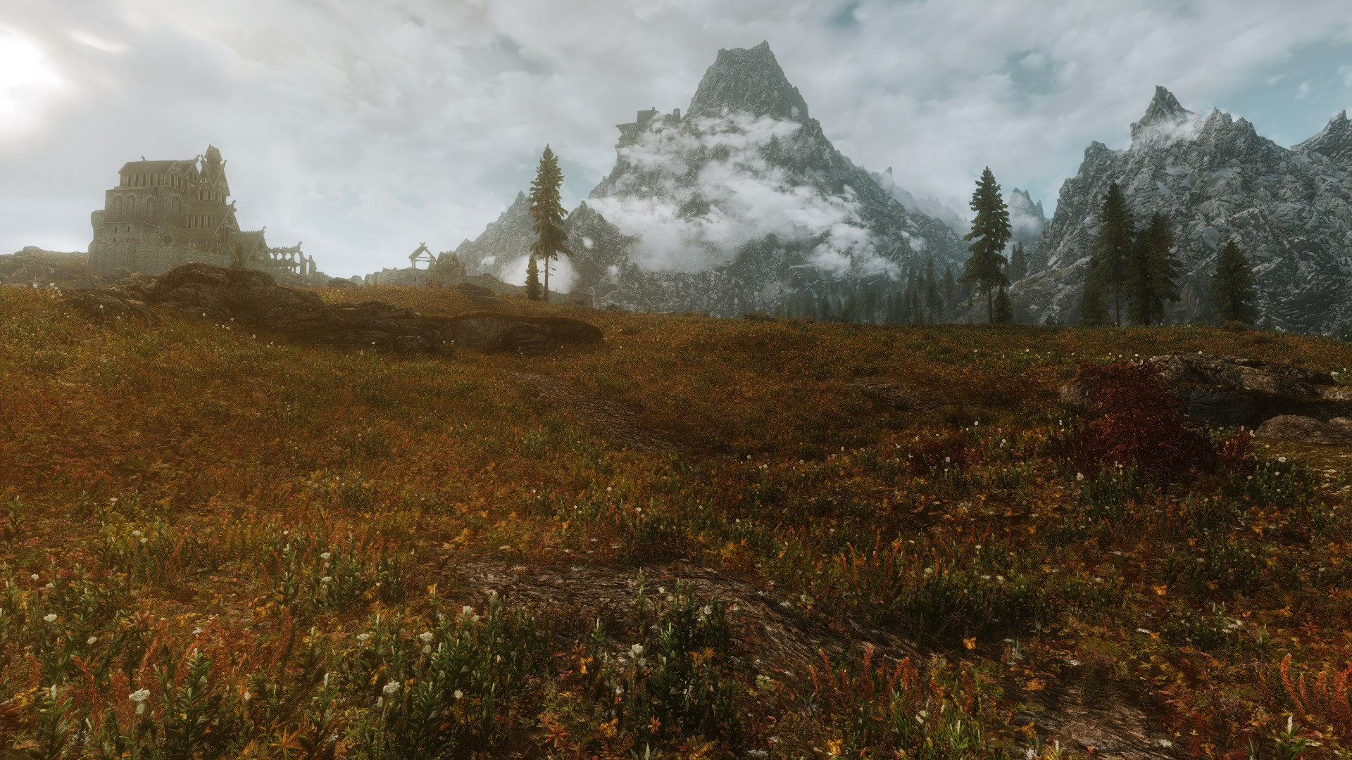Enhanced landscapes at skyrim nexus mods and community for Landscape images
