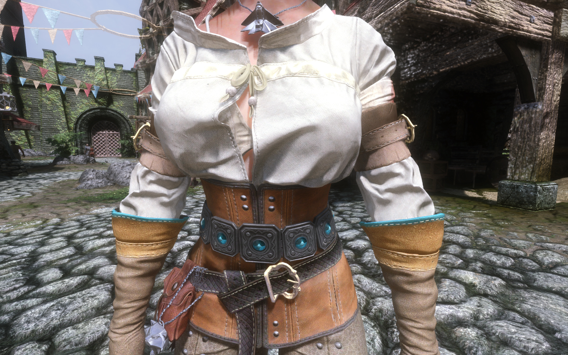 Ciri (Witcher 3) Armor HD Retexture at Skyrim Nexus - mods and ...: www.nexusmods.com/skyrim/mods/69078