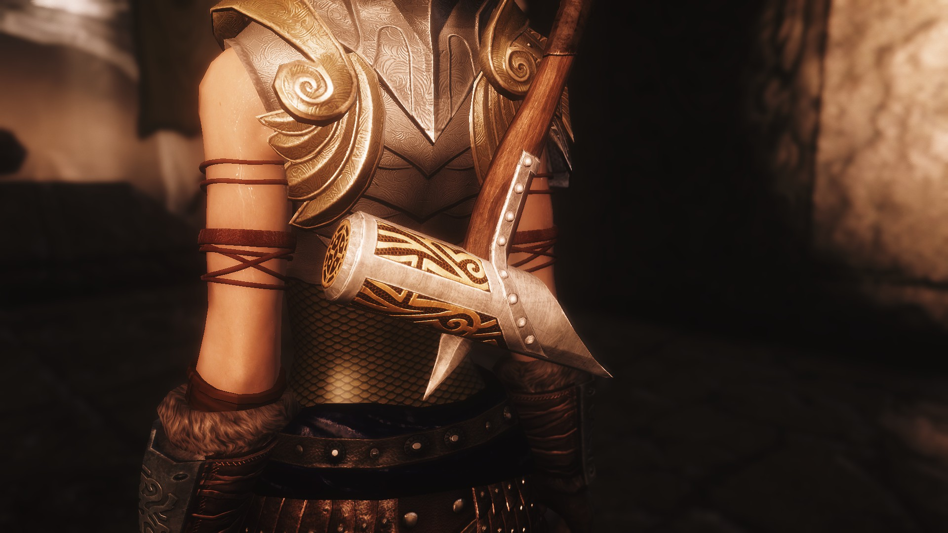 dawnguard armor texture at skyrim nexus mods and eotw the dawnguard textures re mastered at skyrim nexus 991