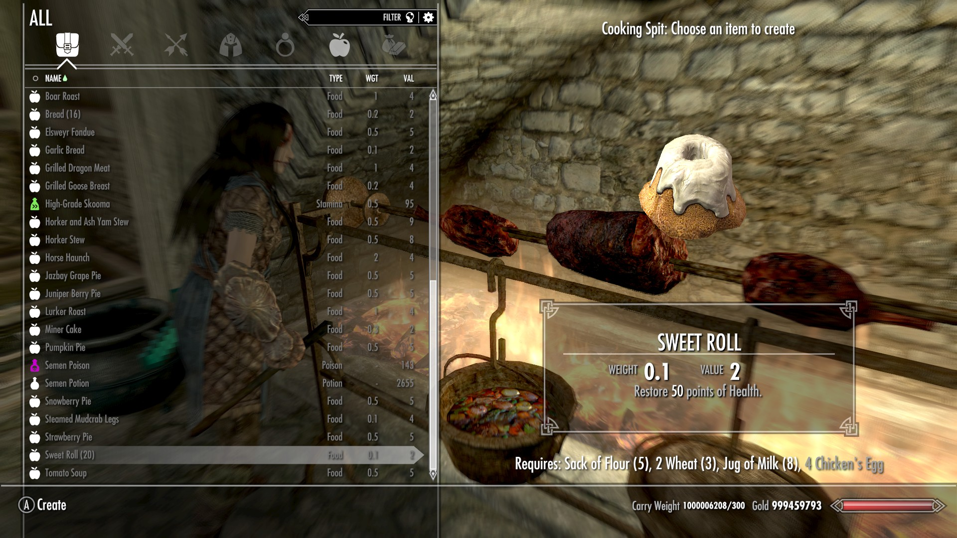 Sweet Roll Time At Skyrim Nexus Mods And Community - Imagez co