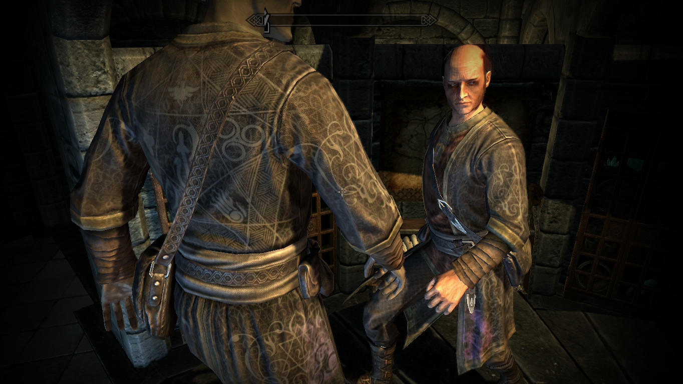 Skyrim mage outfit texture overhaul