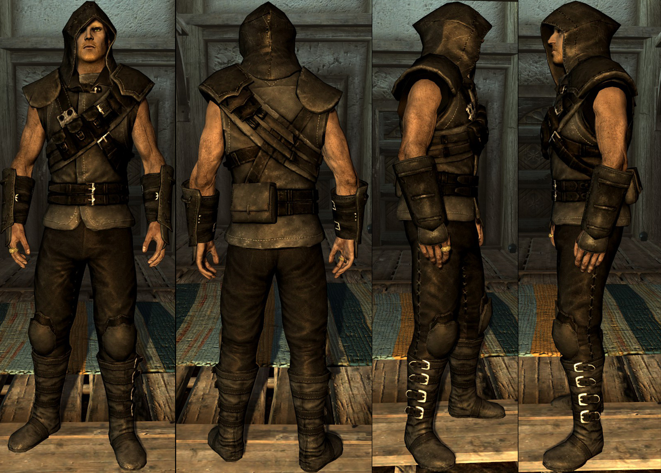 thieves guild armor mod