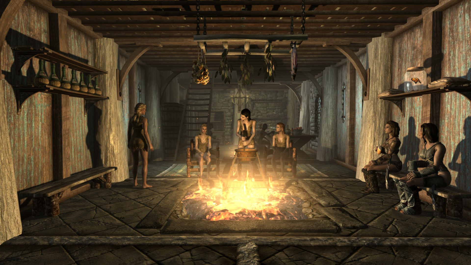 Breezehome Bookshelf Remover At Skyrim Nexus