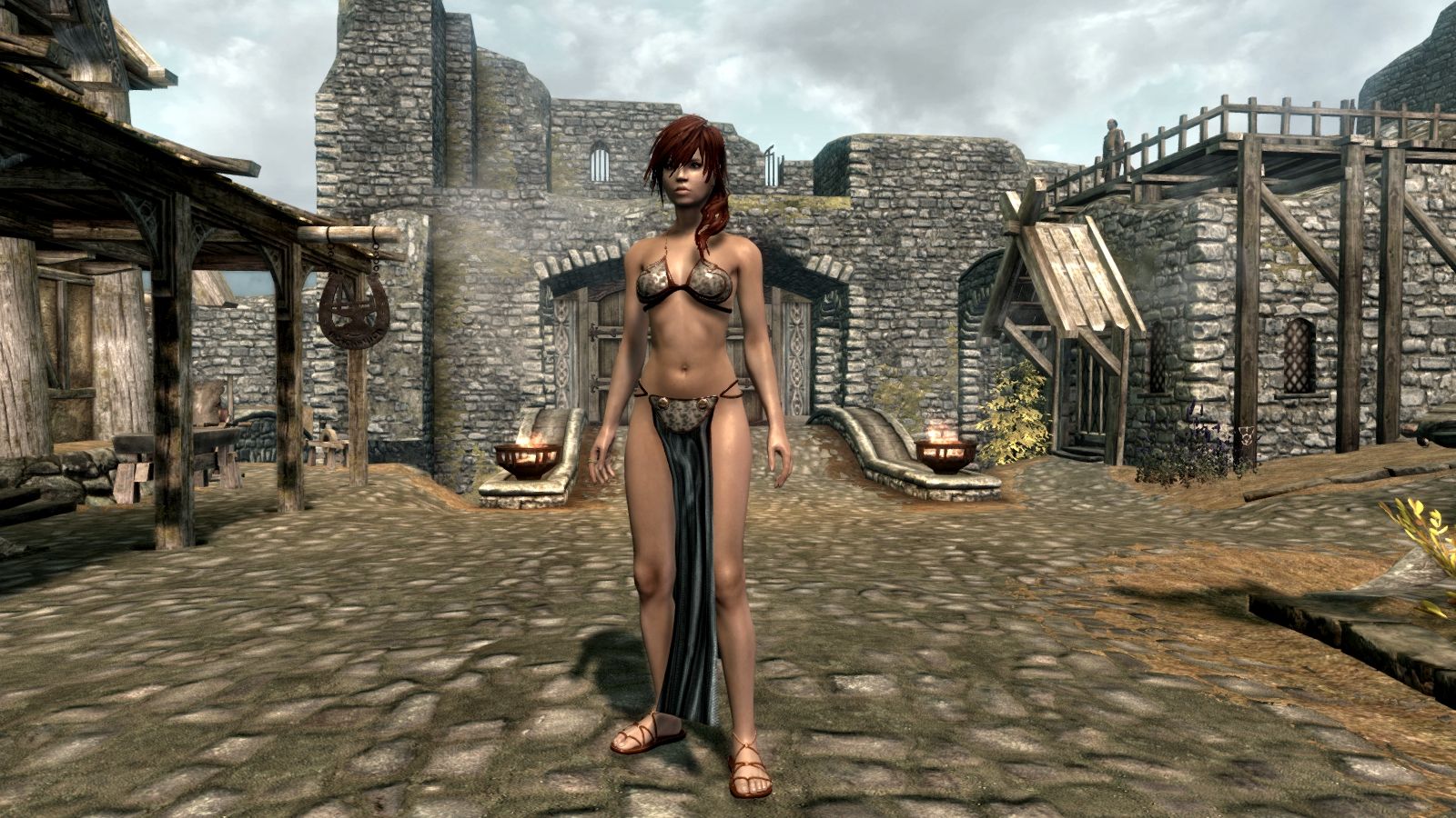 Oblivion sex slave mod erotica video