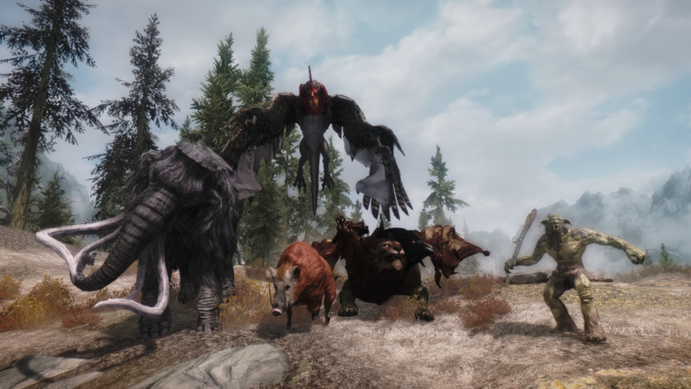 Show us what you're working on! - Page 83 - General - Dark ... Werevulture Skyrim