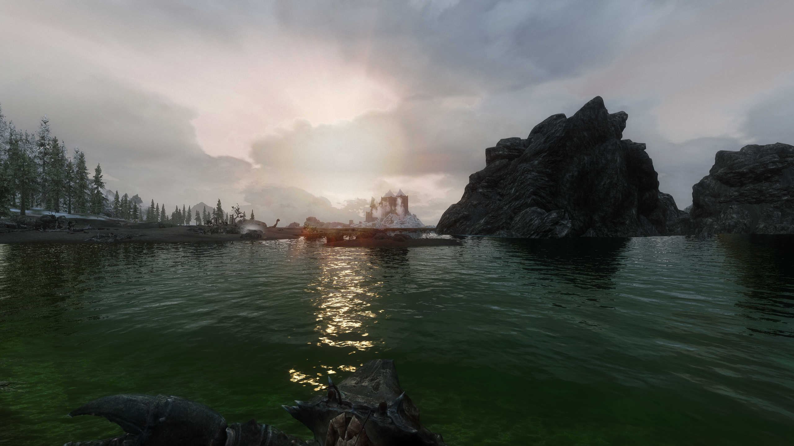 Green-hued water and my ENB - ENB Support - STEP Modding Forum