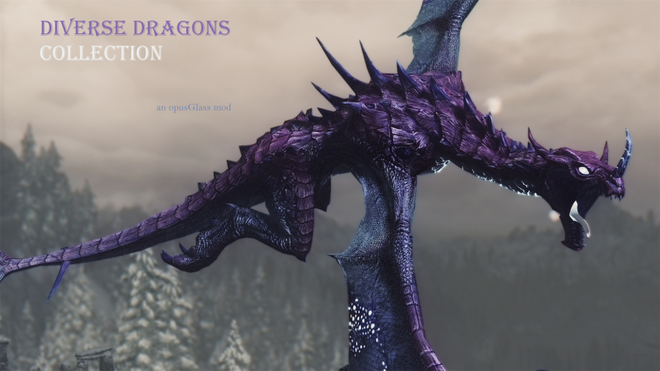 Diverse Dragons Collection SE (DDCse) at Skyrim Special Edition Nexus - Mods and Community