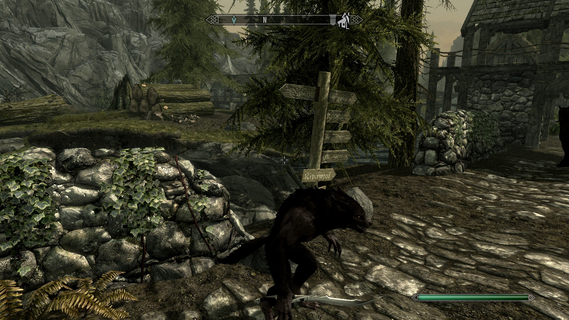 how to become a werewolf in skyrim using console commands