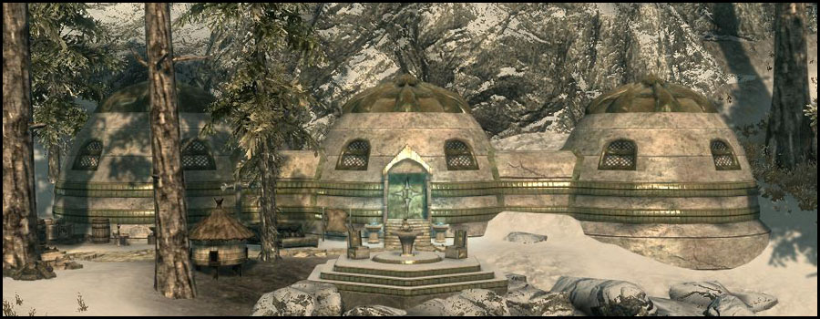 Snow Elf Hut At Skyrim Nexus Mods And Community