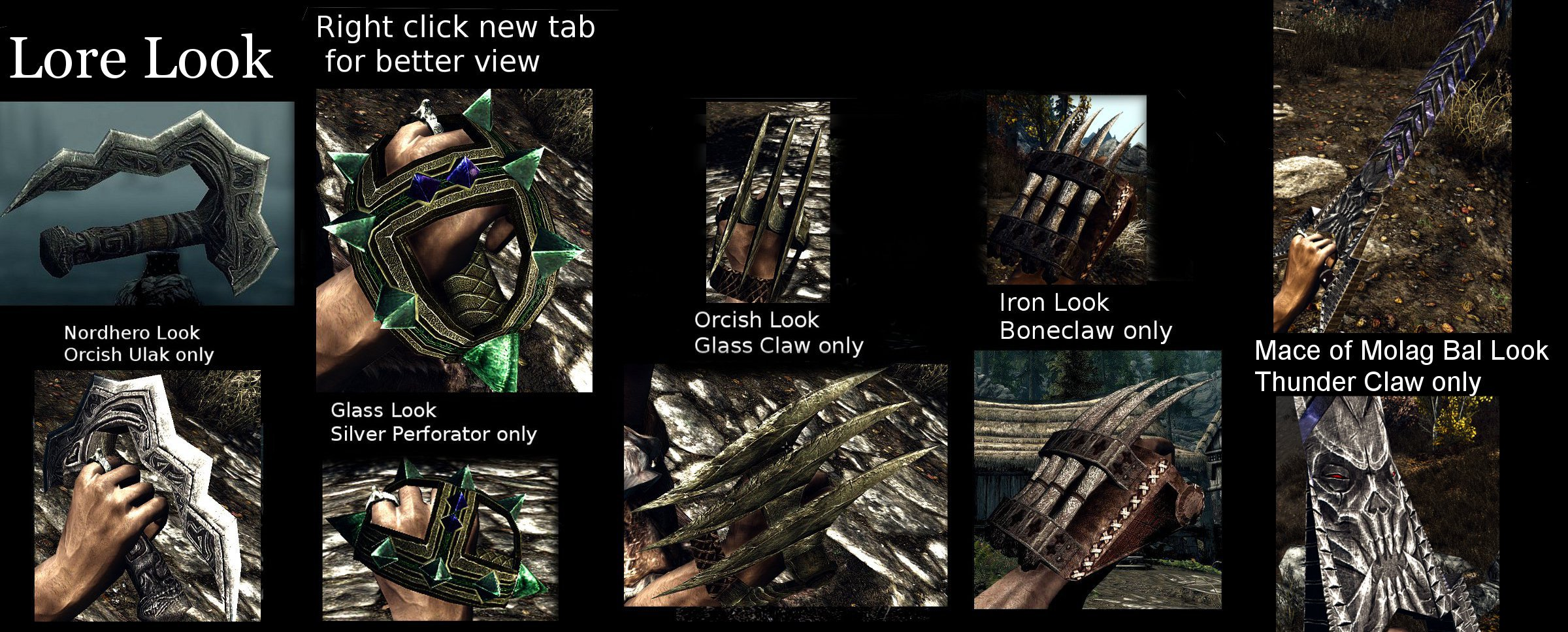 tom349s Fist Weapons Retexture at Skyrim Nexus - mods and