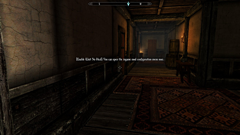 Enderal FS - Enable Wait no Heal (English Version) at Skyrim