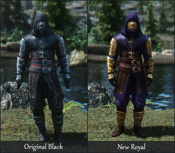 Legendary Armor Conversions and Recolors at Skyrim Special