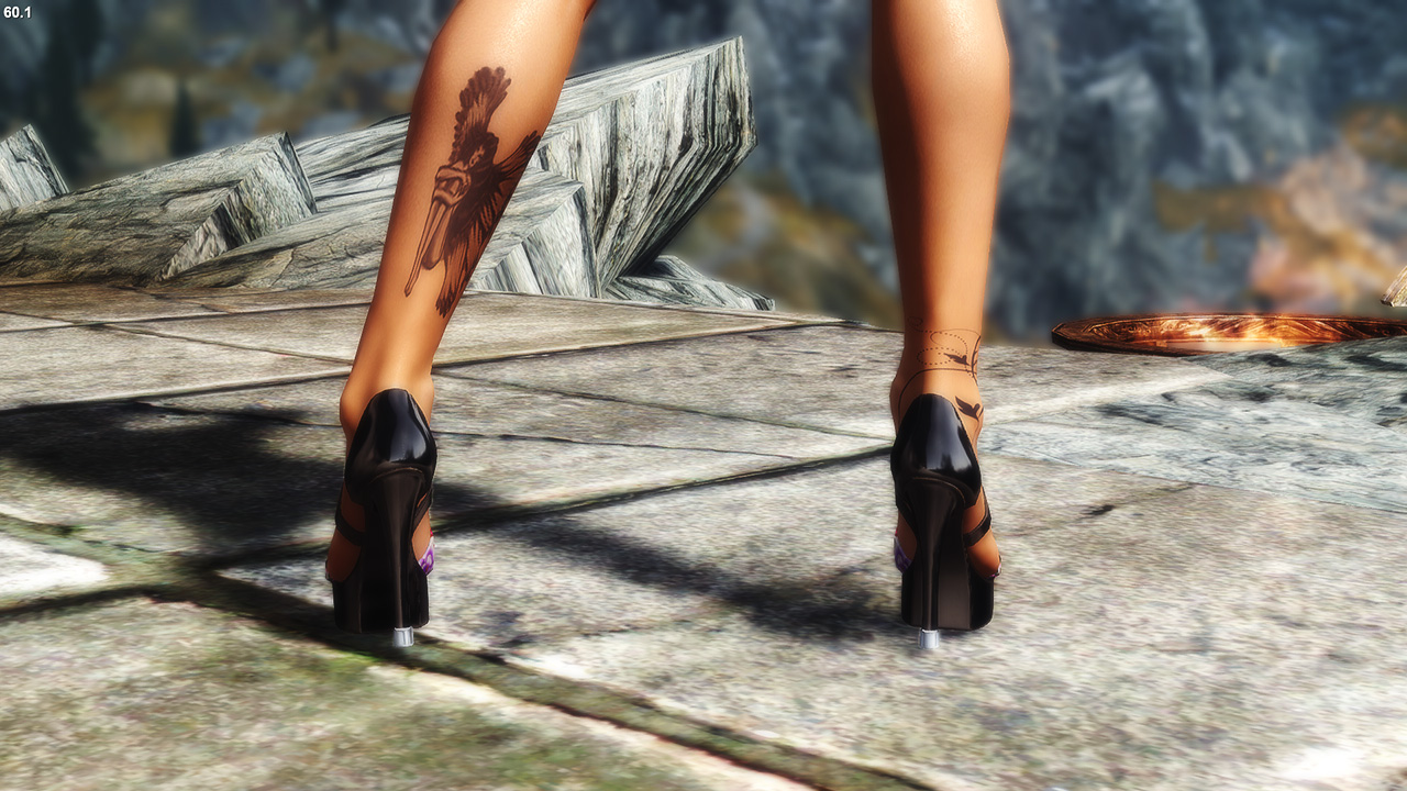 Charming High Heels CBBE HDT converted to NiOverride Heels system at Skyrim  Nexus - mods and community - Charming High Heels CBBE HDT Converted To NiOverride Heels System