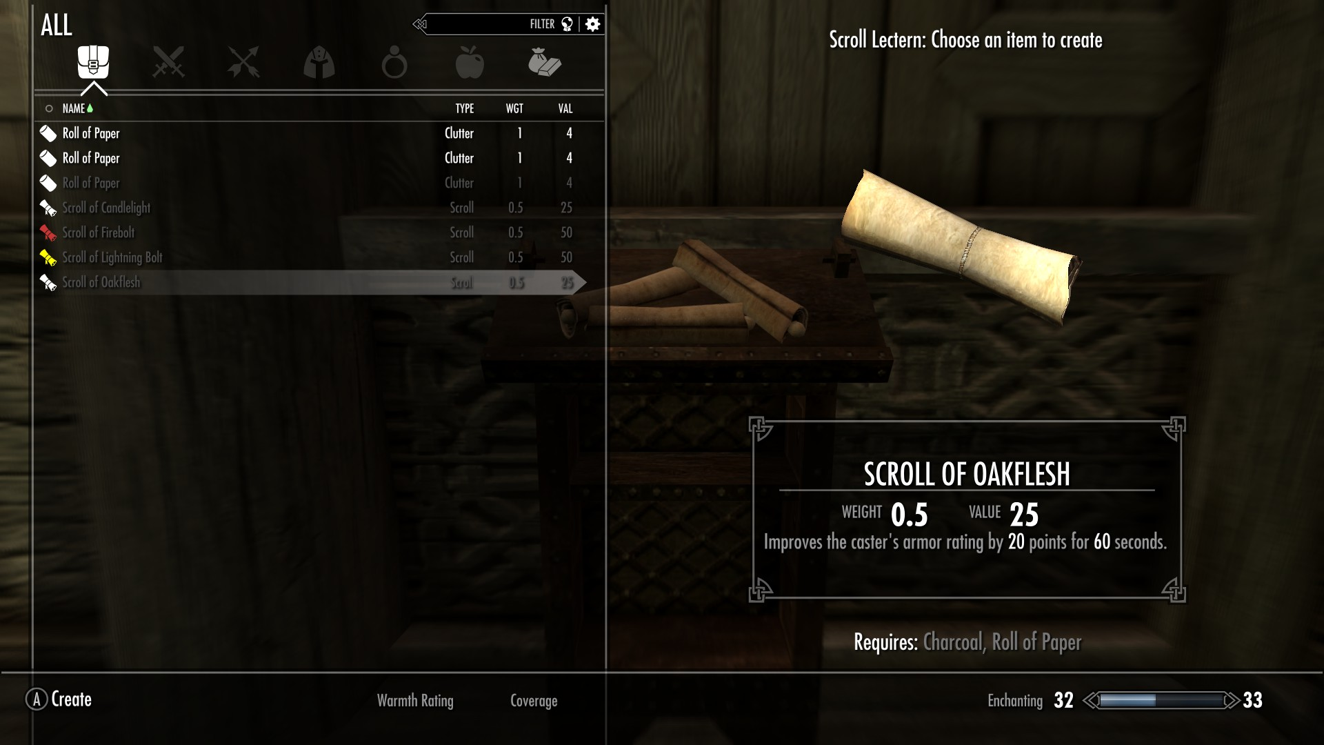 Basic Scroll Crafting at Skyrim Nexus - mods and community