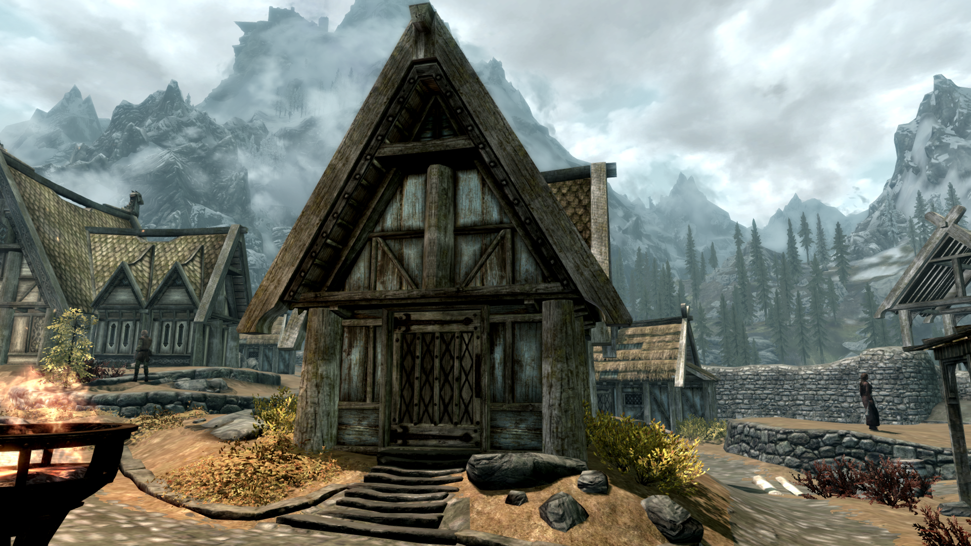 skyrim arkngthamz how to open gate