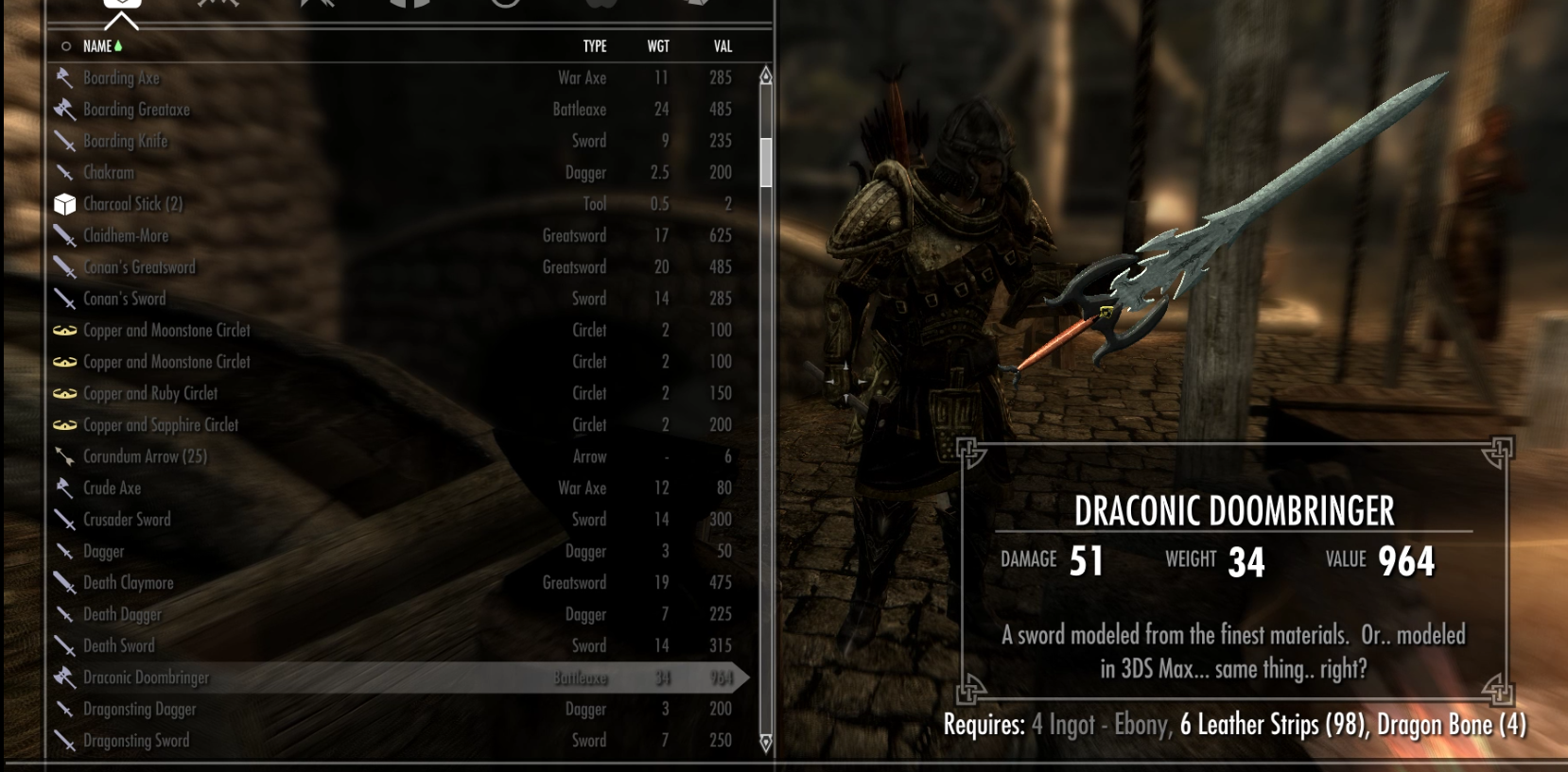 Draconic Doombringer at Skyrim Nexus - mods and community
