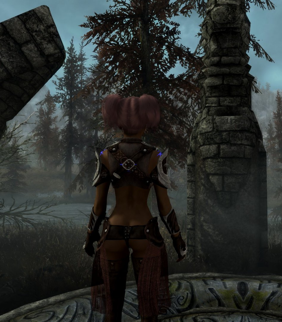 how to get hair and body physics in skyrim cbbe