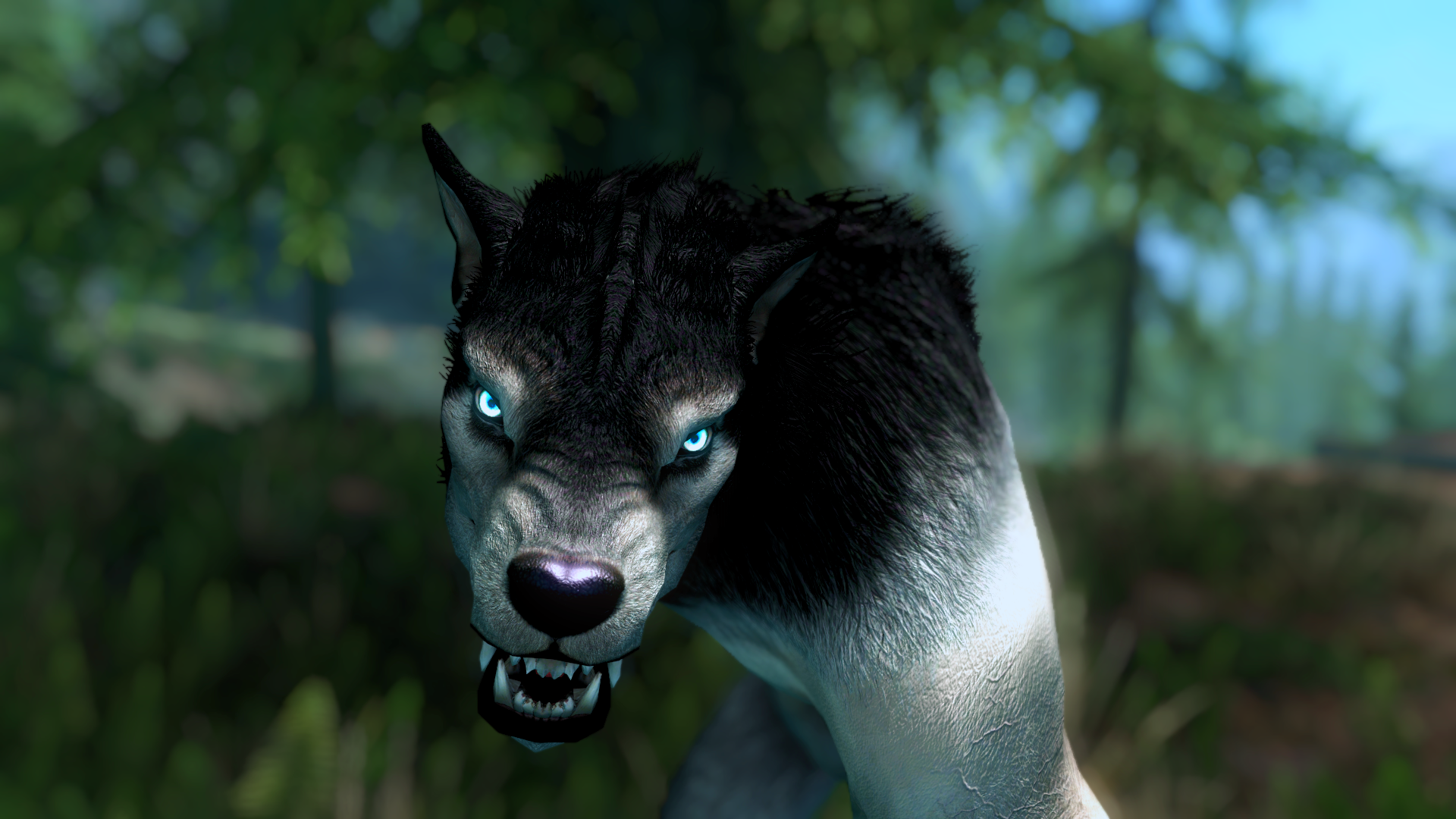 Moonlight Tales Se For Skyrim Werewolf And Werebear Overhaul At