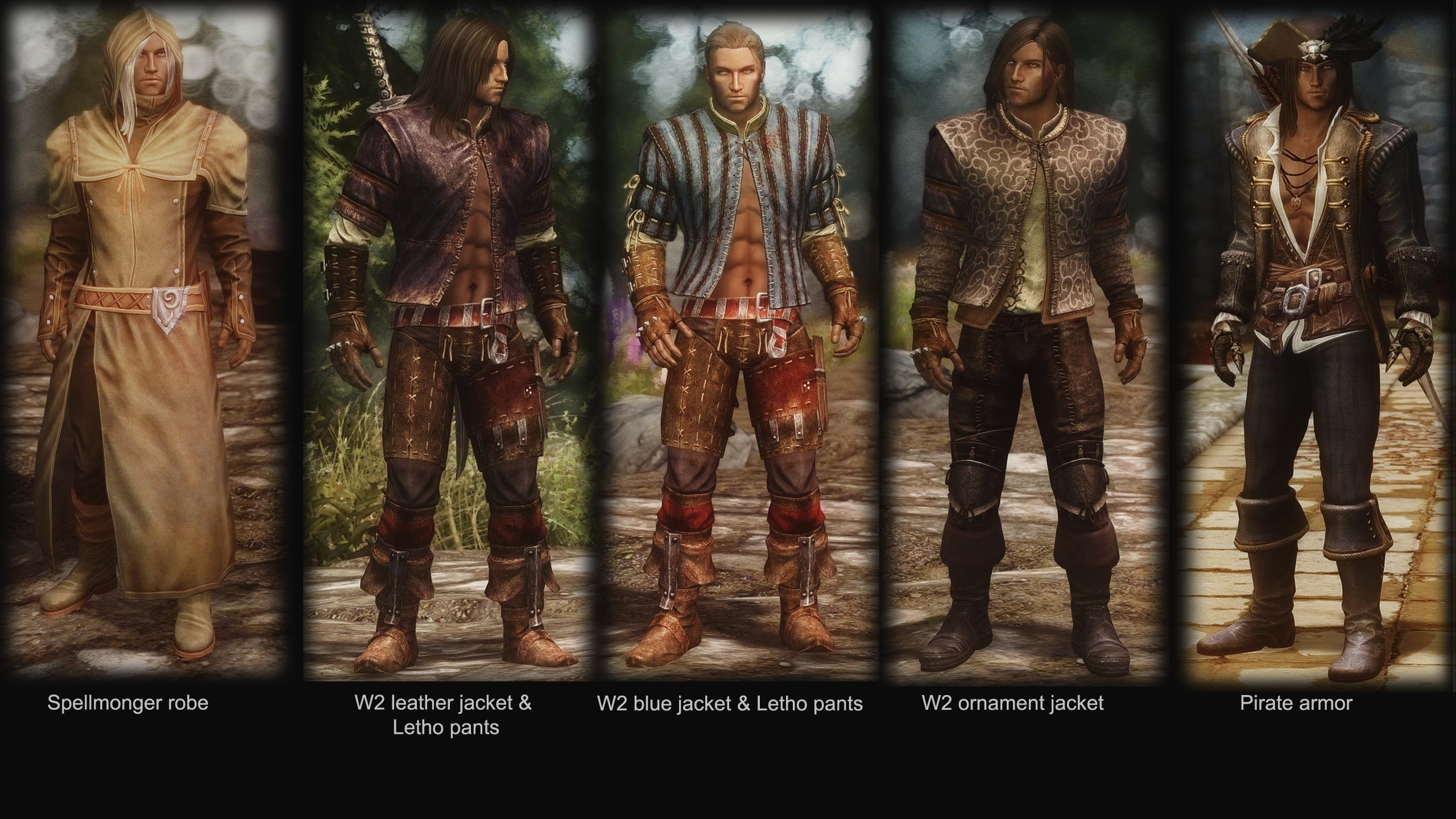 Any Cool Mage Clothing Mods For Male Mages Skyrimmods