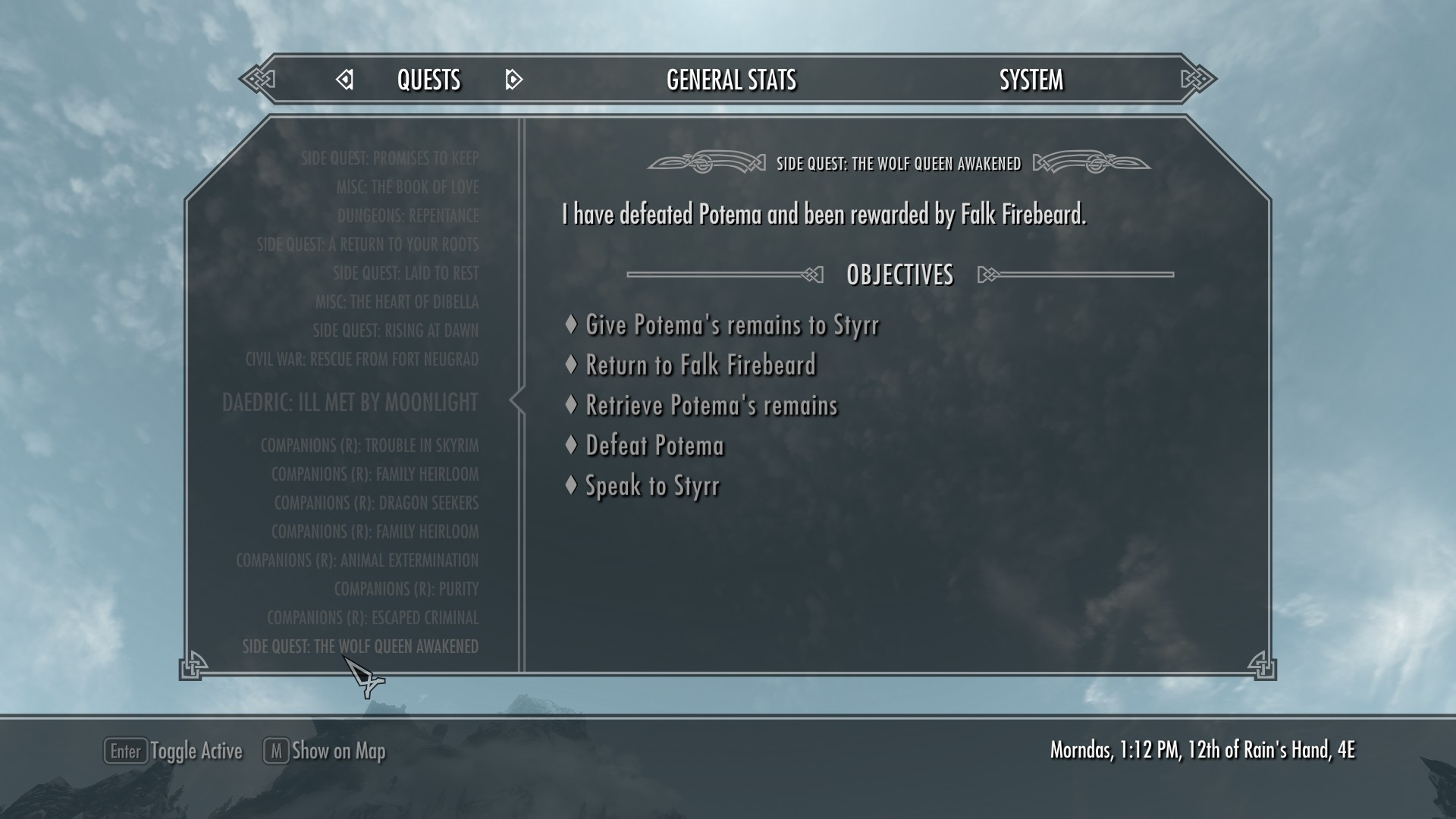 Quest Categorization at Skyrim Nexus - mods and community