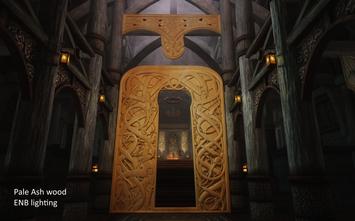 Nordic carving great portal of dragonsreach se at skyrim